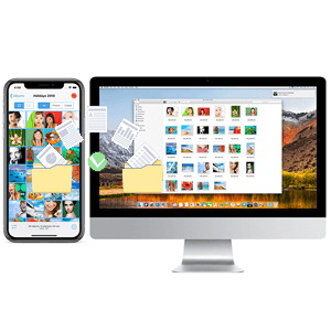how to transfer photo and file from iphone and ipad to mac